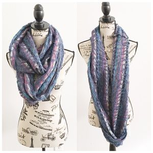 Accessories - Colorful Infinity Scarf